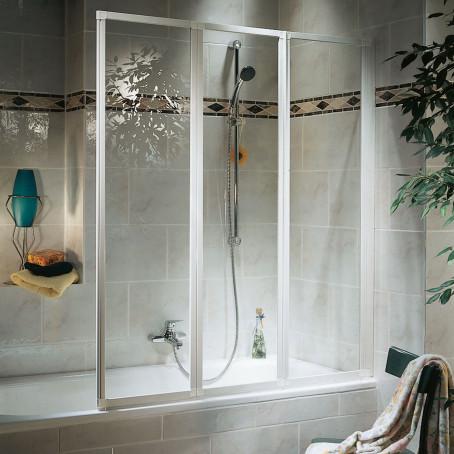 badewannenfaltwand badewannenaufsatz duschabtrennung faltwand badewanne schulte ebay. Black Bedroom Furniture Sets. Home Design Ideas