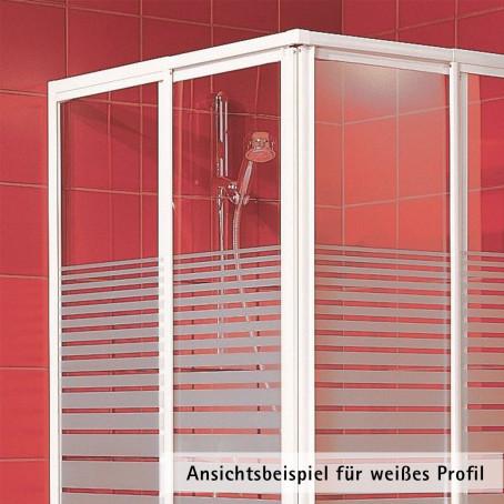 dusche duschkabine duschabtrennung eckdusche duschset glas 90x75 ebay. Black Bedroom Furniture Sets. Home Design Ideas
