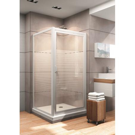 duschkabine dusche duschabtrennung echtglas dreht r eckdusche 80x80 90x90 bad ebay. Black Bedroom Furniture Sets. Home Design Ideas